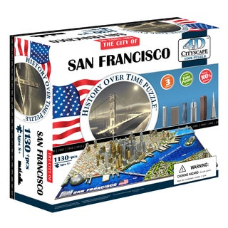 4D Cityscape Time Puzzle - San Francisco, USA