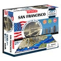 4D Cityscape Time Puzzle San Francisco, USA