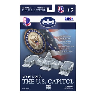 3D Puzzle US Capitol (132 pieces)