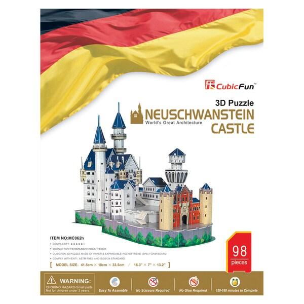 Neuschwanstein Castle 98-piece 3D Puzzle