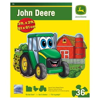 John Deere Johnny Tractor On the Farm 36-piece Floor Puzzle