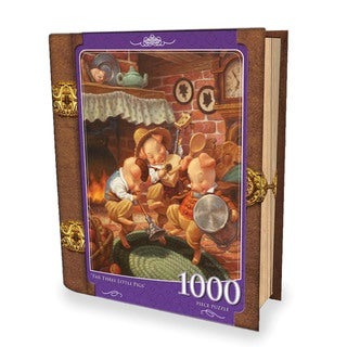 Fairytales Book Box The Three Little Pigs 1000-piece Puzzle