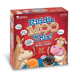 Riddle Moo This Silly Riddle Word Game