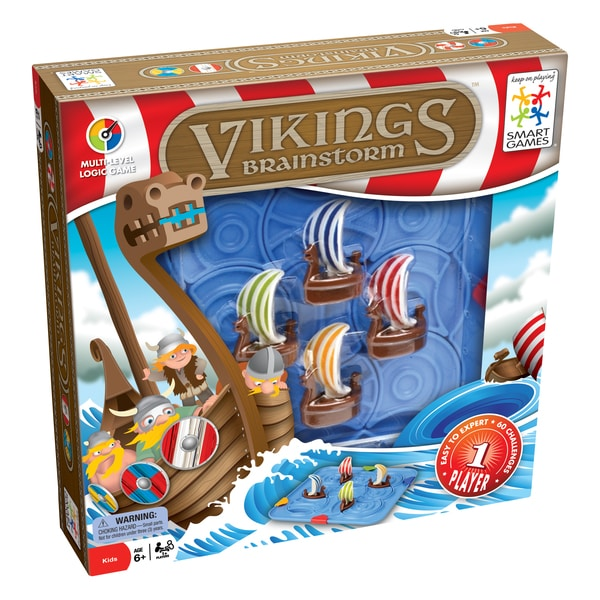 Vikings Brainstorm Puzzle Board Game