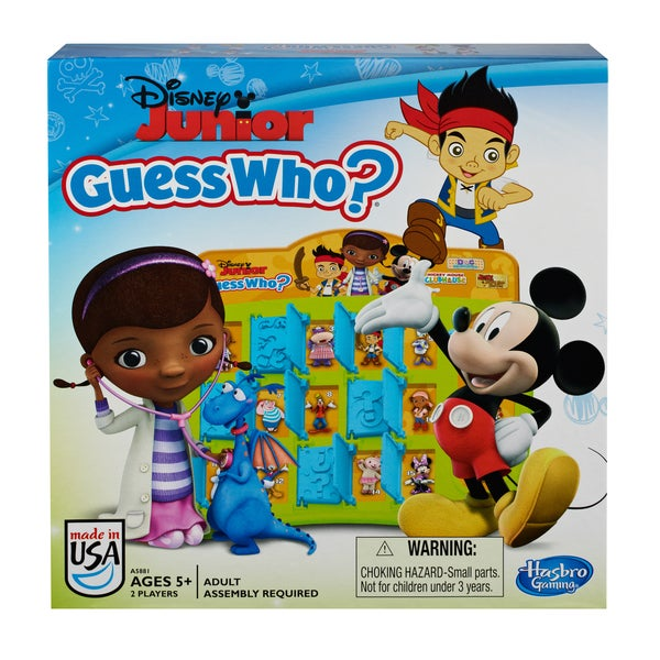 Disney Jr. Guess Who? Board Game