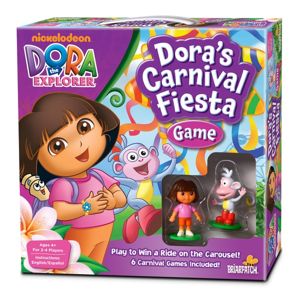 Dora the Explorer Dora's Carnival Fiesta Game
