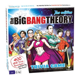 The Big Bang Theory Fan Edition Trivia Game
