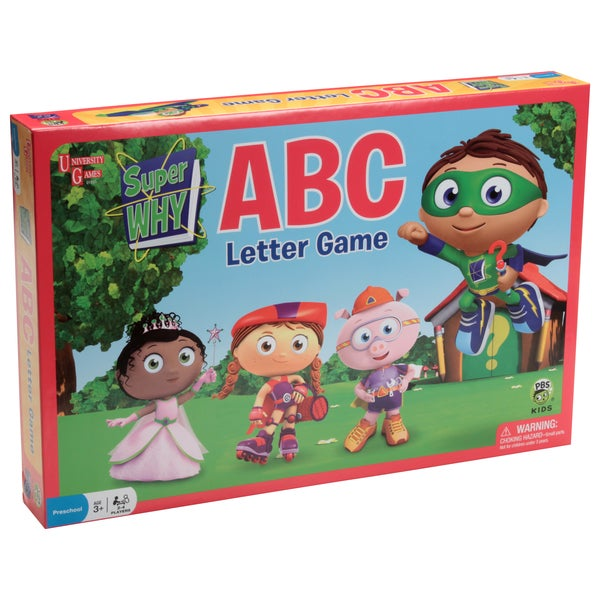 Super WHY ABC Letter Game
