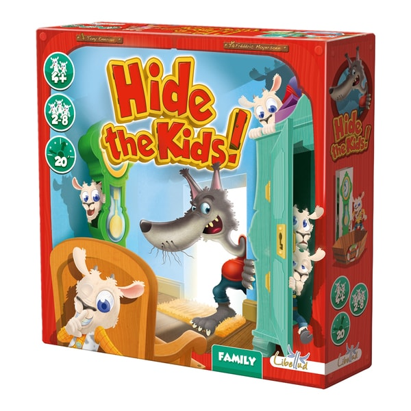 Hide the Kids! Game