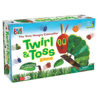 University Games Very Hungry Caterpillar Twirl & Toss Game