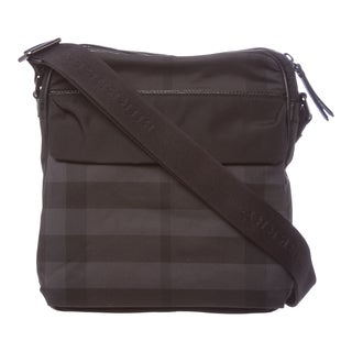 Burberry Small Black Beat Check Crossbody