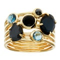 Ippolita 18k Yellow Gold Rock Candy Gelato 6-stone Cluster Ring