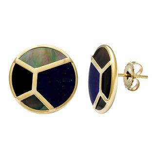 Ippolita Polished Rock Candy Mosaic Stud Earrings