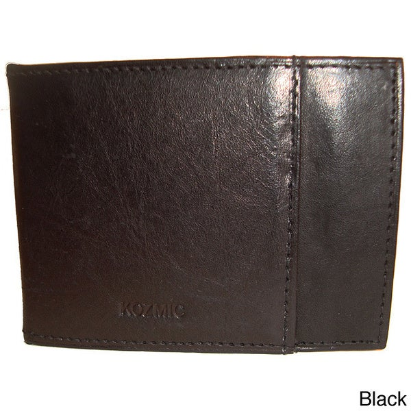 Kozmic Leather Money Clip Wallet