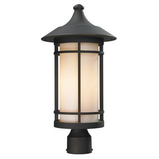 Z-Lite Oil-rubbed Bronze Outdoor Post Light