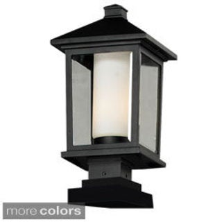 Z-Lite Double Glass Outdoor Post Light