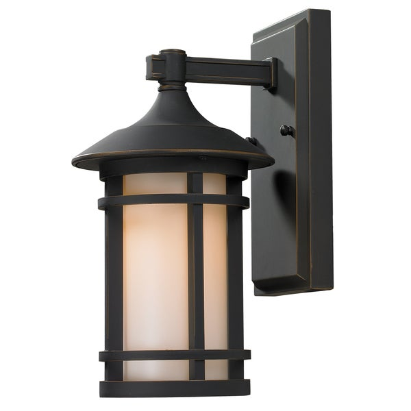 Z-Lite Brown Outdoor Wall Light