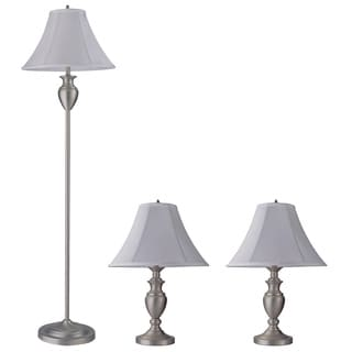 SB Z-Lite 3-piece Set with 2 Table Lamps and 1 Floor Lamp