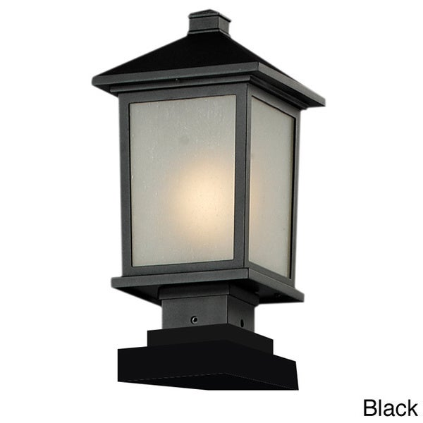 Z-Lite Mission-style Outdoor Post Light