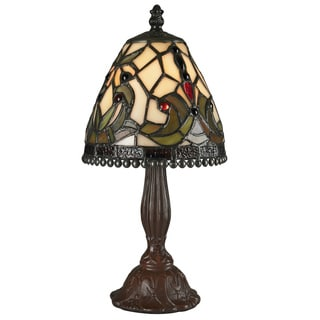 Z-Lite Mini Multicolor Tiffany Table Lamp