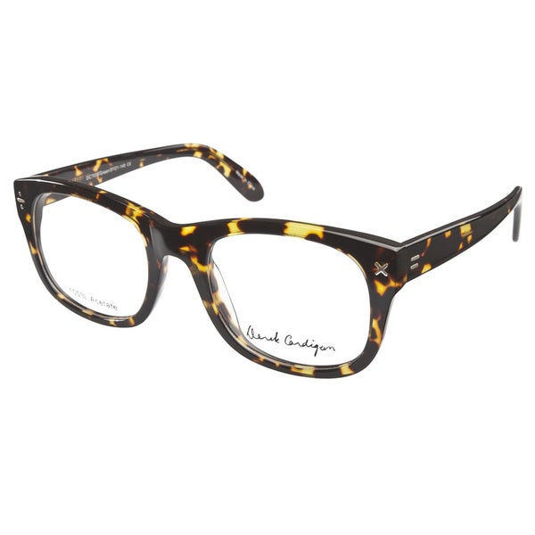 Derek Cardigan 7004 Green Tortoiseshell Prescription Eyeglasses