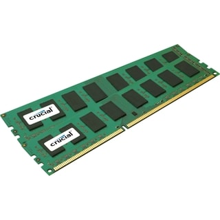 Crucial 8GB Kit (4GBx2), 240-pin DIMM, DDR3 PC3-12800 Memory Module