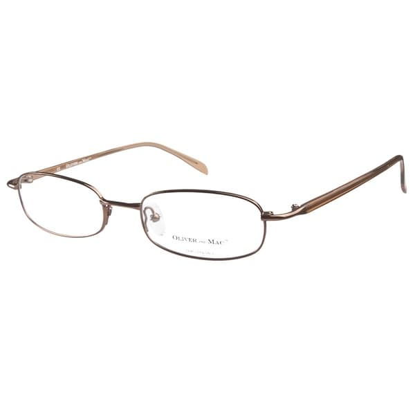 Oliver and Mac Andover Brown Prescription Eyeglasses