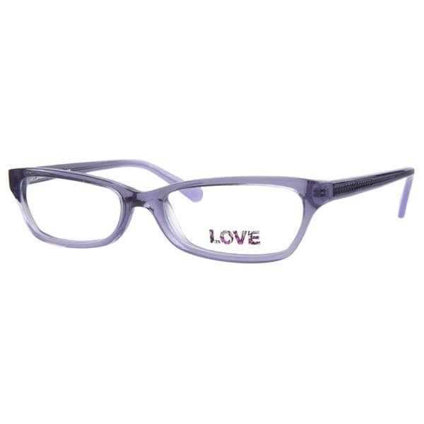 Love L755 Purple Prescription Eyeglasses