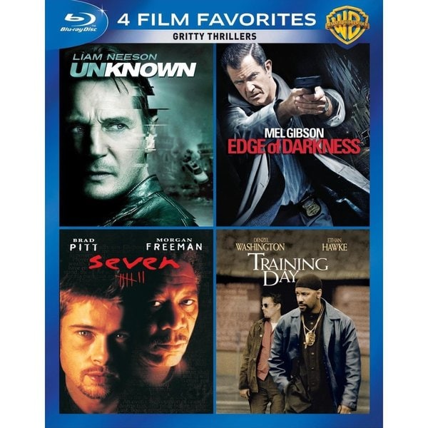 4 Film Faves: Gritty Thrillers (Blu-ray Disc) 12162115