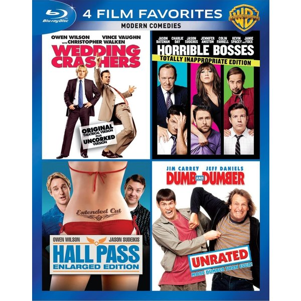 4 Film Favorites: Modern Comedies (Blu-ray Disc) 12162116