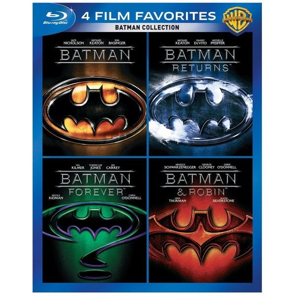 4 Film Favorites: Batman (Blu-ray Disc) 12162121