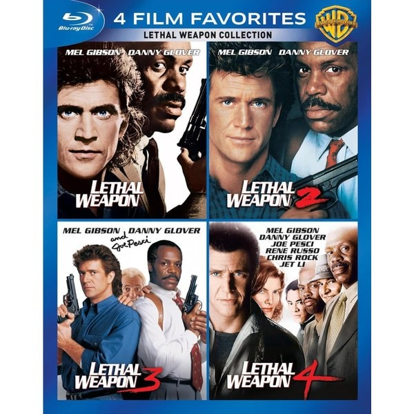 4 Film Favorites: Lethal Weapon (Blu-ray Disc) 12162122