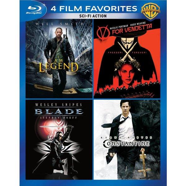 4 Film Favorites: Sci-Fi Action (Blu-ray Disc) 12162124