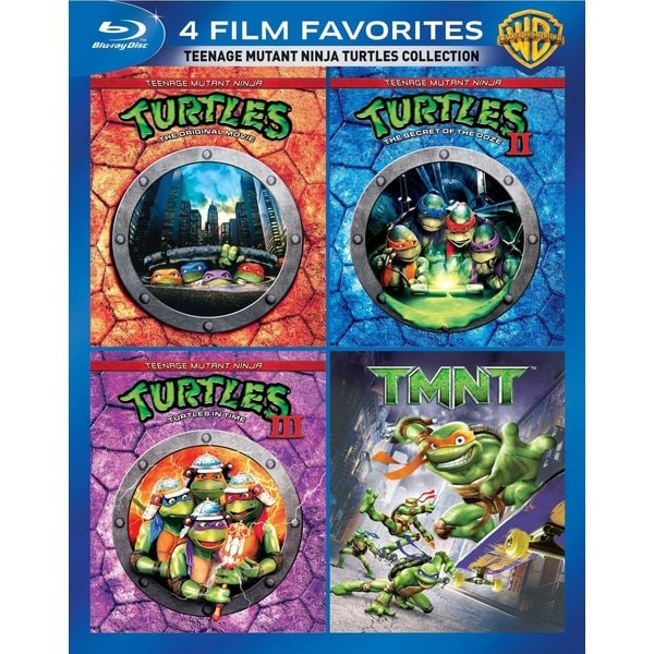 Teenage Mutant Ninja Turtles Film Collection (Blu-ray Disc) 12162125