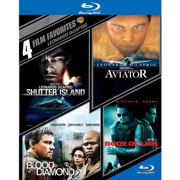 4 Film Favorites: Leonardo DiCaprio (Blu-ray Disc) 12162126