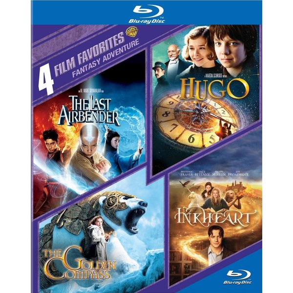 4 Film Favorites: Fantasy Adventure (Blu-ray Disc) 12162127