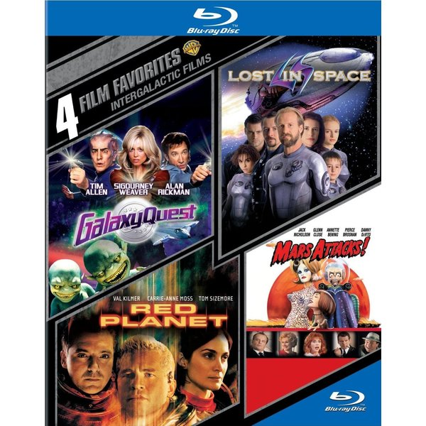 4 Film Favorites: Intergalactic Films (Blu-ray Disc) 12162128
