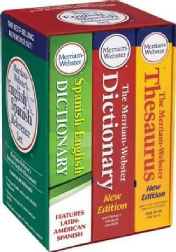 Merriam-Webster's English & Spanish Reference Set (Paperback)