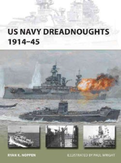 US Navy Dreadnoughts, 1914-45 (Paperback)