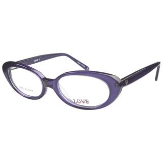 Love L741 Plum Prescription Eyeglasses