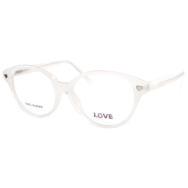 Love L742 Snow White Prescription Eyeglasses