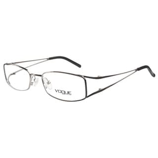 Vogue VO3550 787 Black Faded Silver Prescription Eyeglasses