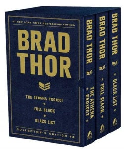 Brad Thor Collector's Edition #4: The Athena Project, Full Black, and Black List (Hardcover)
