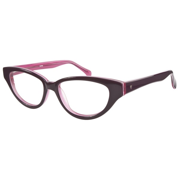 Love L748 Purple Pink Prescription Eyeglasses