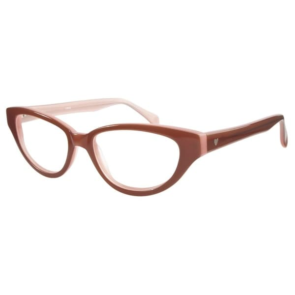 Love L748 Brown Pink Prescription Eyeglasses