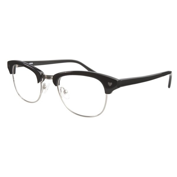 Love L756 Black Silver Prescription Eyeglasses