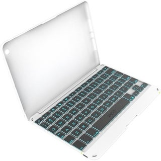 ZAGG ZAGGkeys Keyboard/Cover Case (Folio) for iPad mini - White