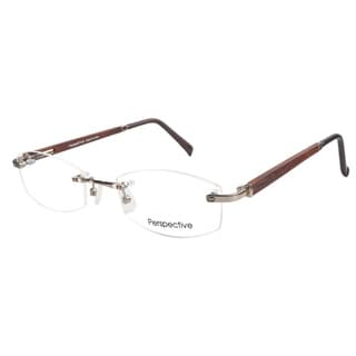 Perspective 2024 Gold Prescription Eyeglasses