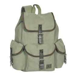 Everest Canvas Rucksack Olive
