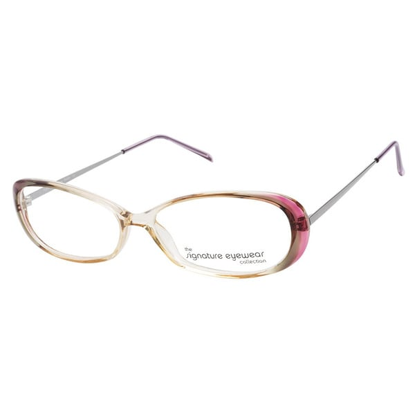 Signature Eyewear Dainty Hazel Mist Prescription Eyeglasses